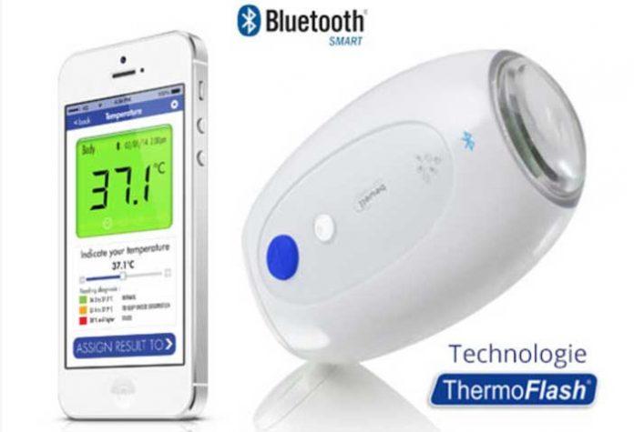 Thermomètre connecté BewellConnect
