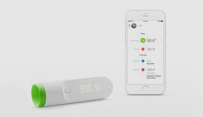 Thermomètre connecté Withings
